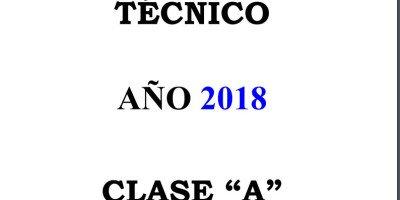 R. CLASE A